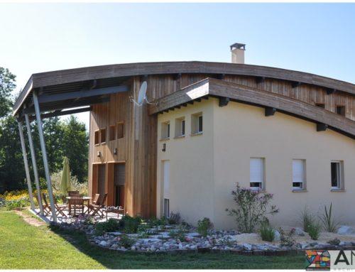 Maison moderne Allemans du Dropt (47)
